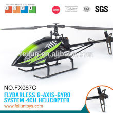 Feilun toys 2.4G 4CH big single propeller rc model rc helicopter price with CE/ROHS/FCC/ASTM