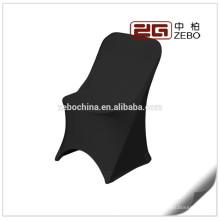 200GSM Lycra tecido colorido personalizado cadeira cobre para cadeira dobrável