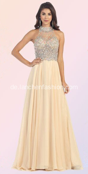 Boutique Hotsale A-Linie Chiffon formale Prom Kleider