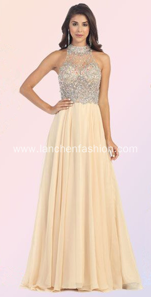 Boutique Hotsale A line Chiffon Formal Prom Dresses