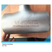Сварной стыковой сварной шов Wp317 Бесшовный тройник из нержавеющей стали