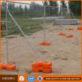 Cerca provisória galvanizada Quente-Mergulhada quente do Au da construção