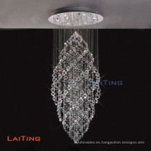 Lámpara de araña de cristal moderna para ahorro de energía / LED LT-92007
