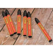 6 Stück ungiftig wasserdichte Markierung Crayon Marking Pen Marker schwarz