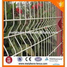 Direto fábrica soldada malha de arame cerca / 2x2 galvanizado malha de arame soldado para painel de cerca