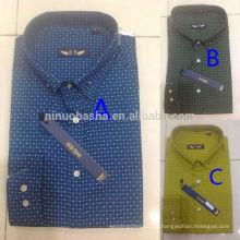 Новое Прибытие последней моде 2014 мужские платье рубашки повседневные оптом мужские футболки NB0554