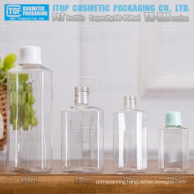 TB-DM Series 60ml 120ml 230ml 450ml unique popular color customizable good quality polygon/octagon recycling pet bottle