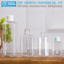 TB-DM série 60ml 120ml 230ml 450ml cor popular única personalizável de boa qualidade polígono/octógono reciclagem garrafa pet