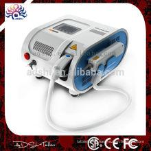 Profissionais esterilizados e máquinas de remoção de tatuagem de laser de segurança