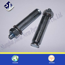 Anchor Bolt with Blue Zinc Surface
