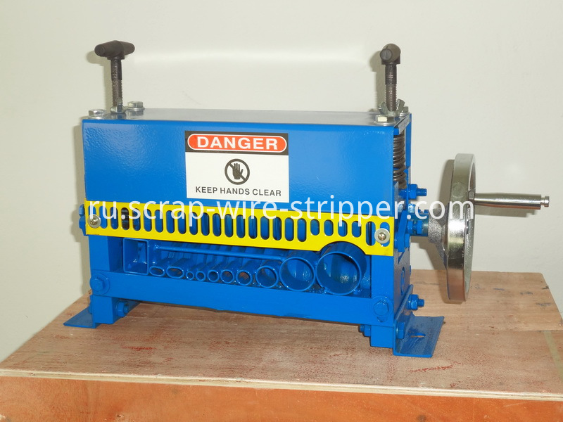 how to make a wire stripping machine