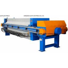 Prensa de filtro de membrana de aceite para industria petrolera diseñada por Leo Filter Press