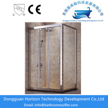 Custom shower glass small shower cubicle