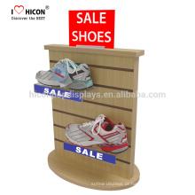 Compreendemos as necessidades dos clientes em detalhe Loja de sapatos desportivos comerciais Slatwall comercial Loja de madeira acrílica de exposição
