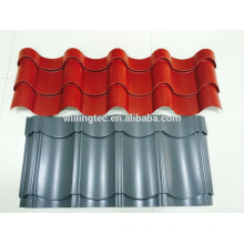 Color coated corrugated steel tile
