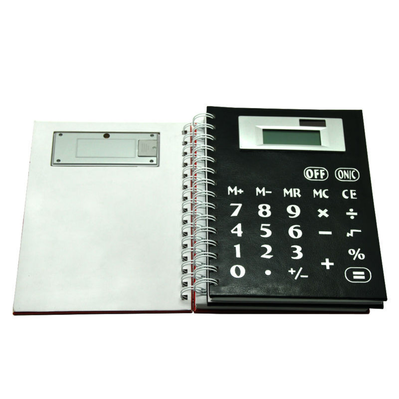 Multi function Solar Coil Notebook Calculator