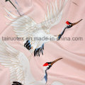16mm Printed Crepe De Chine Silk for Garment Fabric
