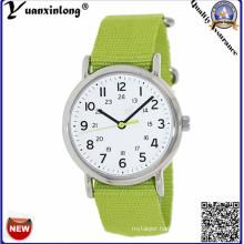 Yxl-137 Simple Design Ladies Watch Nylow Strap Vogue Fashion Wristwatch Quartz Lady Dress Watch Custom Factory
