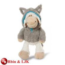 Conozca EN71 y ASTM estándar ICTI peluche de juguete de fábrica de peluche de oveja de juguete