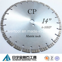 "14"" Laser Saw Blade Diamond Cutter for Concrete"