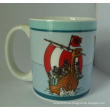 Taza de café de cerámica (CY-P147C)