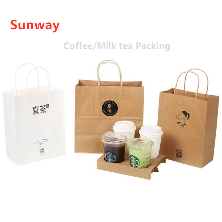 Tote Bag With Cup Holder