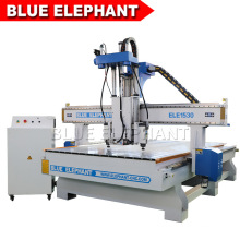 Cheap Price Three Heads 1530 CNC Engraving Machinery for Wooden Plywood Door Furniture