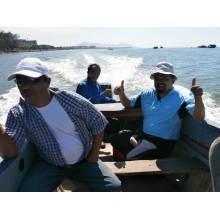 Langlebiger Außenbordmotor 2-Takt 15 PS für Fischer