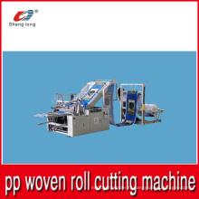 Rouleau en tissu plastique en plastique PP en machine en morceaux en provenance de Chine