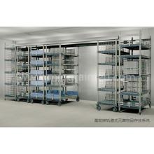 Orbital sterile item storage system