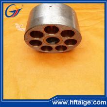 Bloque de cilindros de hierro dúctil de pieza hidráulica para motor de pistón
