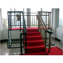 China fabricante de los barandales de acero de la escalera de acero del recubrimiento del polvo