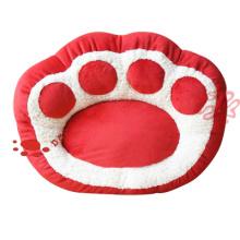 plush pet paw shape sofa