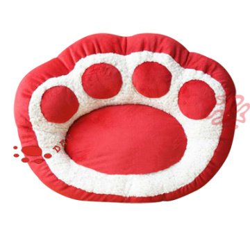 plush pet paw shape sofa