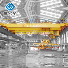 High Quality QC Type 5~32T Main Hanger Electromagnetic Bridge Crane