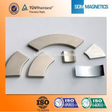 Super strong permanent arc magnet