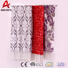 100 polyester vente chaude entier usine de porcelaine microfibre imprimé chauffé flanelle polaire couverture