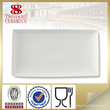 Plats de plats en céramique de restaurant, plats de restaurant, fabricant de plats de porcelaine bon marché