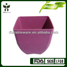 Biodegradable eco friendly square garden pots