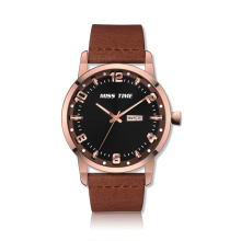 Custom Watch 3atm Water Resistant Watch para homem