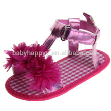 Nuevos zapatos planos Zapatos para caminar lindo bebé y sandalias lindas para niños