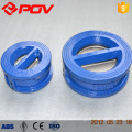 Wafer connect Cast iron Material Dual Plate Check Valve