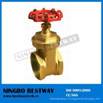 Usine directe de valve de porte en laiton de fil femelle (BW-G06)