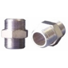 High Pressure Nipple 250bar G3/8M-G3/8M Steel
