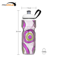 Wholesale High Quality Plastic Double-Deck Insulated Water Bottle