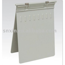 Professional beautiful environmental gray color chart Gray ABS medical chart holder