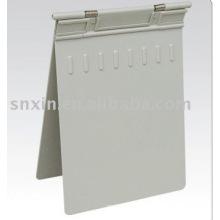 Профессиональные красивой окружающей среды серый цвет диаграммы серый АБС медицинской карты держатель
