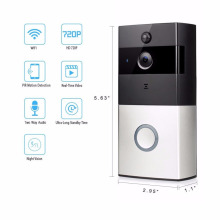 Smart WiFi video doorbell, wireless video door phone, IP Wi-Fi camera