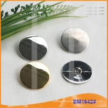 Botón de aleación de zinc y botón de metal y botón de costura de metal BM1642
