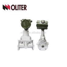 SS 304 4-20ma output peak milk gas digital water flow meter turbine flowmeter